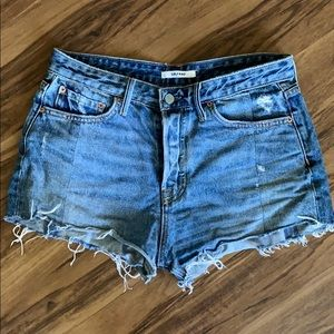 GRLFRND Cindy denim shorts (size 27)
